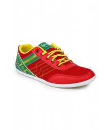 Cefiro Red Casual Shoes for Men - CCS0189
